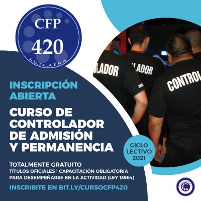 INSCRIPCION CFP 420 2021
